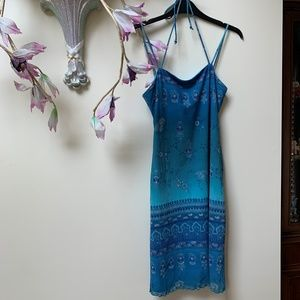 All That Jazz Blue dress size small